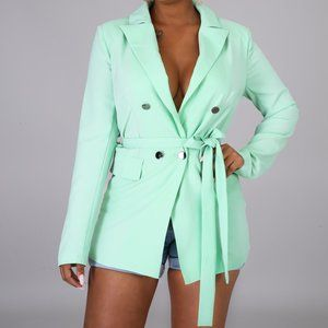Mint High Fashion Blazer